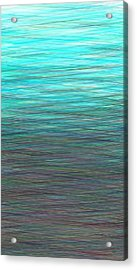 Watery Deep Acrylic Print by Will Borden