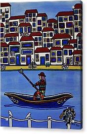 Watery Venice Acrylic Print