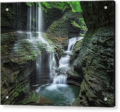 Watkins Glen Acrylic Print by Bill Wakeley