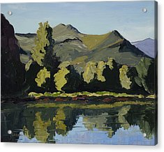 Watson Lake Acrylic Print