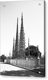 Watts Towers Acrylic Print