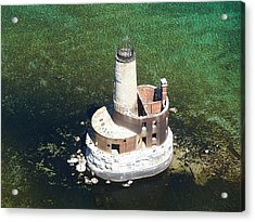 Waugoshance Lighthouse Acrylic Print