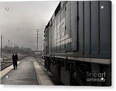 Waukugen Train Station Acrylic Print