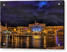Wausau Ice Rink After Dark Acrylic Print