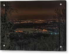 Wausau From On High Acrylic Print