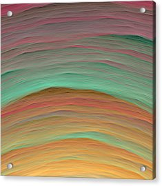 Wave-03 Acrylic Print by RochVanh