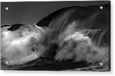 Wave Acrylic Print by Alasdair Turner