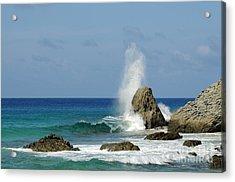 Wave At Boldro Beach Acrylic Print