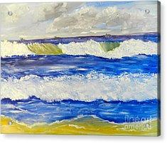 Wave At Bulli Beach Acrylic Print