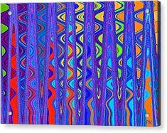 Wave Beyond A Wave Acrylic Print
