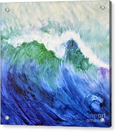 Wave Dream Acrylic Print by Joan Hartenstein