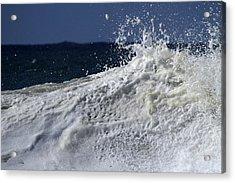 Wave Explosion Acrylic Print by Noel Elliot