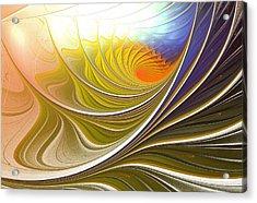 Wave Game Acrylic Print by Anastasiya Malakhova