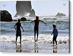 Wave Jumping 25614 Acrylic Print