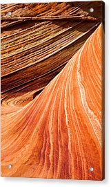 Wave Lines Acrylic Print by Chad Dutson