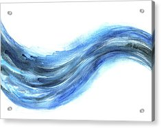 Wave Of Energy Acrylic Print by Stereohype