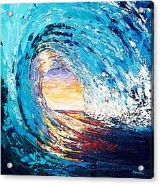 Wave Of Light Acrylic Print by Suzanne King