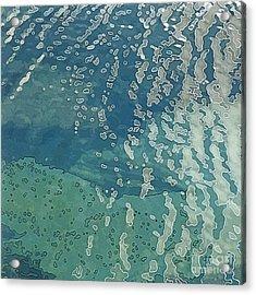 Wave Pattern 2 Acrylic Print by Dietmar Fink