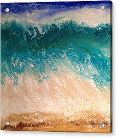 Wave Acrylic Print by Patty Vicknair