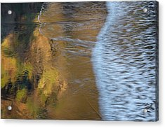 Wave Reflections 2 Acrylic Print by Leland D Howard