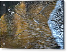 Wave Reflections 3 Acrylic Print by Leland D Howard
