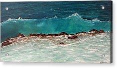 Wave Acrylic Print by Svetla Dimitrova