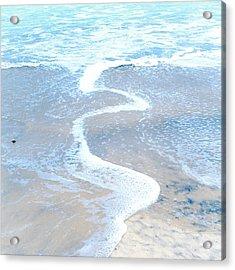 Wave Swirl Acrylic Print by Tanya Harrison