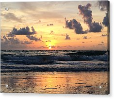 Wave To Sun Acrylic Print