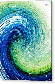 Wave To Van Gogh Acrylic Print