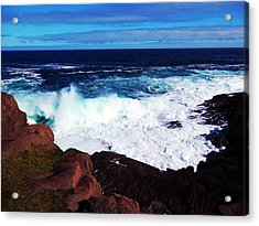 Wave Acrylic Print by Zinvolle Art
