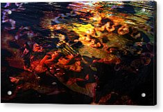 Waveflower Acrylic Print