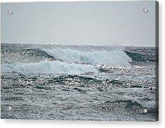 Waves At Koloa Acrylic Print