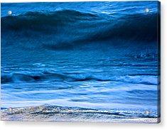 Waves Acrylic Print by Kathi Isserman