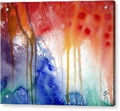 Waves Of Emotion Acrylic Print