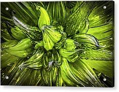 Waves Of Glass Acrylic Print