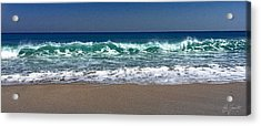 Waves Of Happiness  Acrylic Print