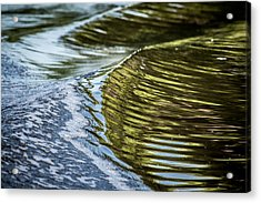 Waves Of Reflections Acrylic Print by Brian Wright