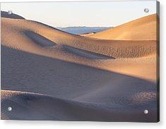 Waves Of Sand Acrylic Print by Jon Glaser