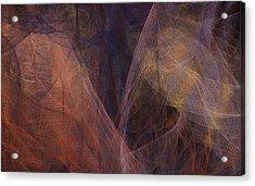 Waves Of The Heart Acrylic Print by Constance Krejci