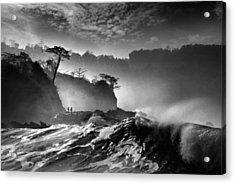 Waves Present That Morning Acrylic Print by Saelanwangsa