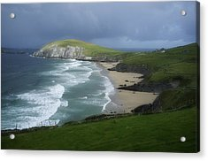 Waves Ring Of Dingle Acrylic Print