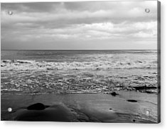 Waves Rolling In  Acrylic Print