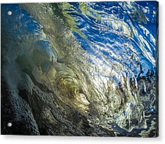 Wavey Gravy Acrylic Print