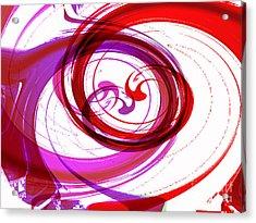 Circling Grace 3 Acrylic Print