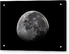 Waxing Moon Acrylic Print by Nila Newsom