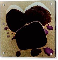 Waxy Stones Acrylic Print