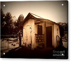 Way Back In The Day Acrylic Print by Deborah Fay