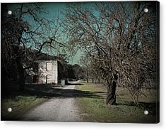 Way Back When Acrylic Print by Laurie Search