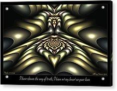 Way Of Truth Acrylic Print