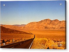 Way Open Road Acrylic Print